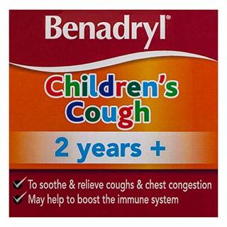 Benadryl Children's Cough Honey Lemon Flavour 2 years+ - 200ml